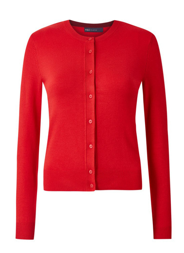 Marks & Spencer Hırka Kırmızı